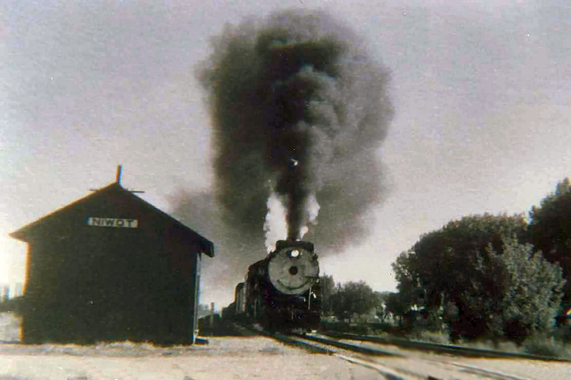 Historic Niwot Train